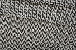 Твид-шанель хлопковый елочка черно-белый NST.H-C2 31082023