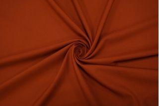 Креп костюмно-плательный поливискозный терракот Hugo Boss NST 31082026