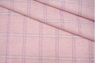 Плотная шерсть розовая в клетку NST 31082039