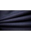 Костюмная шерстяная фланель темно-синяя NST 31082050