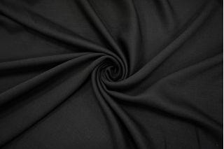 Двойной креп костюмно-плательный черный NST-Z2 31082051