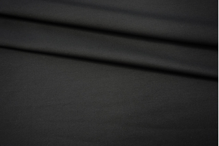 Костюмно-плательная вискоза с шерстью черная NST-X7 31082052