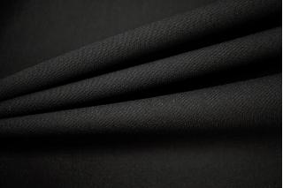 Плательная вискоза с шерстью черная NST-X7 31082053