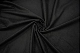 Костюмная шерстяная фланель черная NST 31082056