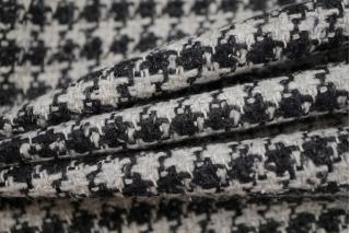 Твид-шанель гусиная лапка черно-серый NST-G7 31082063