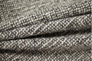 Пальтовый шерстяной твид серый NST 31082069