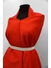 Тонкая костюмно-плательная шерсть алая PRT-E4 13012001