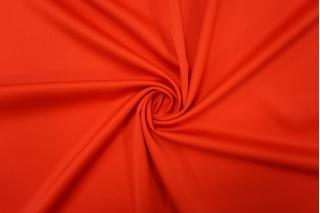 Тонкая костюмно-плательная шерсть алая PRT-F2 13012001