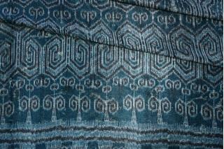 Панбархат вискоза на шелке бирюзовый PRT-С6 14012007