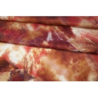 Блузочный сатин шелковый абстракция PRT-C4 11087652