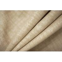 Хлопок костюмно-плательный бело-бежевый PRT-F6 18032028