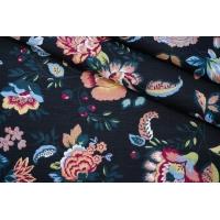Плательный лен цветочный PRT-E6 28022016