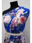 Сатин вискозный плательно-блузочный цветочный PRT-H40 28022036