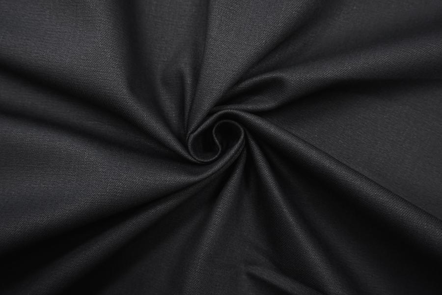 ОТРЕЗ 1,55 М Джинса черная BT-(11)- 9083486-3