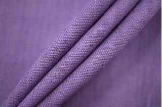 Плательный лен с хлопком фиолетовый BT-E6 9097823