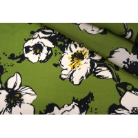ОТРЕЗ 0,75 М Плательная купра цветы PRT-(32)- 9097929-5
