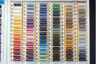Нитки отделочные (для плотных тканей) в ассортименте 30 метров Mettler Seralon TOP-STITCH 6675