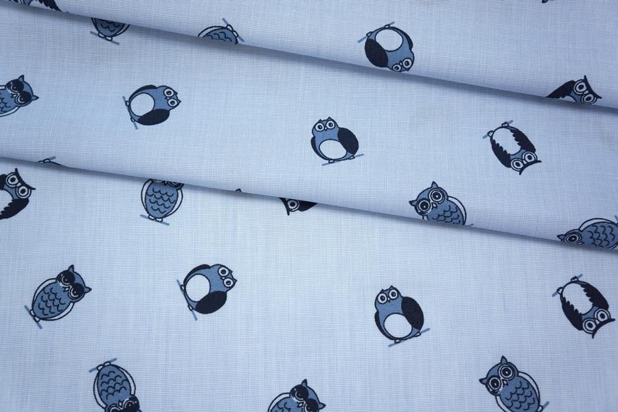 Хлопок рубашечный совы PRT.H-A50 10062004