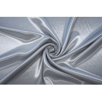 ОТРЕЗ 0,8 М Атлас плательный светло-серый PRT-(32)- 10062027-2