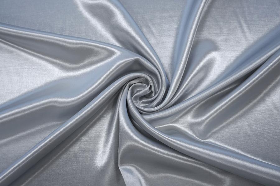 Атлас плательный светло-серый PRT-H6 10062027
