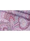 Микровельвет плательный огурцы розовые PRT-Z2 15032022