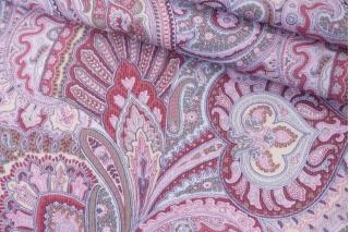 Микровельвет плательный огурцы розовые PRT-A4 15032022