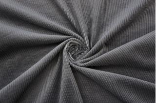 Вельвет хлопковый серый PRT-B5 15032028