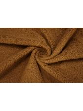 ОТРЕЗ 1,65 М Пальтовая шерсть под мех коричневая PRT-(61)- 16032013-2