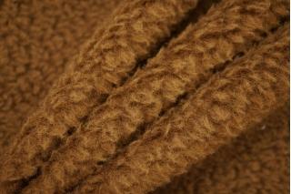 Пальтовая шерсть под мех коричневая PRT-F7 16032013