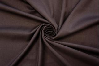 Костюмно-плательная поливискоза темно-коричневая PRT-I6 17032010