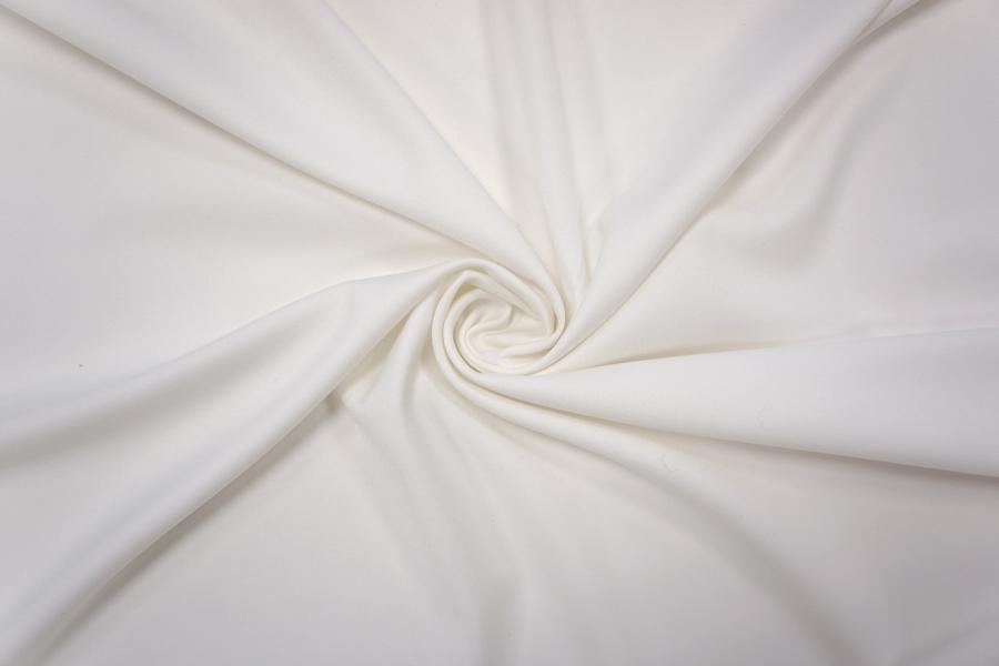ОТРЕЗ 1,65 М Костюмно-плательная поливискоза белая PRT-(57)- 17032014-3
