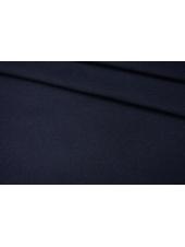 Пальтовый шерстяной велюр темный темно-синий PRT 11022001