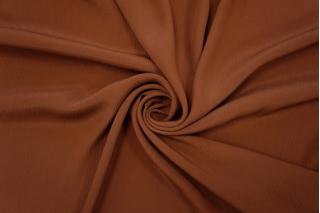 Блузочный крепон коричневый PRT-С5 16012020