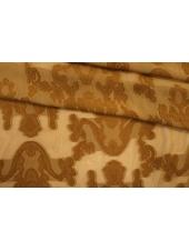 Вискоза филькупе коричневая горчица PRT 22012010