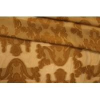 ОТРЕЗ 0,95 М Вискоза филькупе коричневая горчица PRT-(55)- 22012010-2