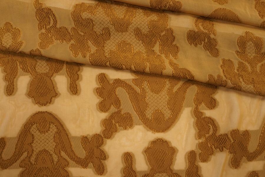 Вискоза филькупе коричневая горчица PRT-i30 22012010