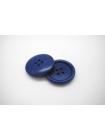 Пуговица пластик синяя 25 мм PRT 04032002