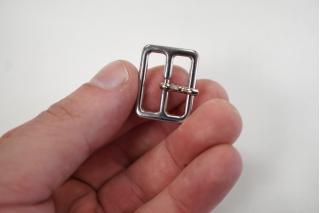 Пряжка серебристая 20х15 мм PRT 04032010