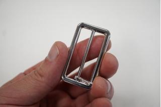 Пряжка серебристая 50х25 мм PRT 04032011