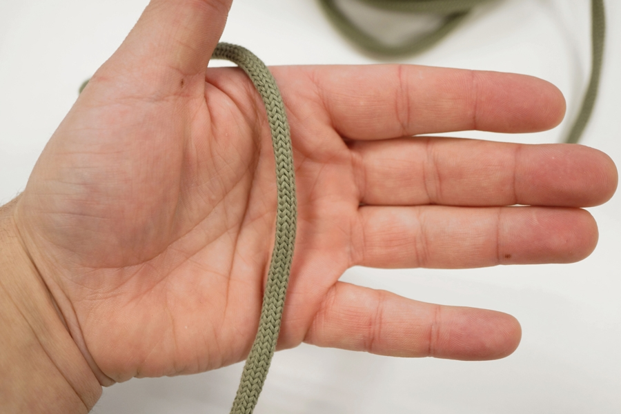 Шнур оливковый PRT 04032015