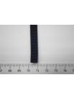 Плоский шнур черно-синий 7 мм PRT 04032016