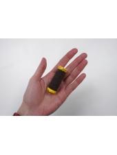 Нитка-резинка темно-коричневая №1048 Amann Group Mettler 10 м 21042007
