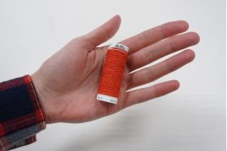 Нитка-резинка красная №0504 Amann Group Mettler 10 м 21042008