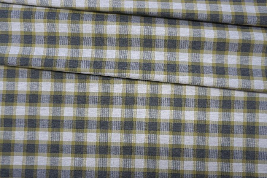Хлопок рубашечный в клетку PRT-G3 01052004