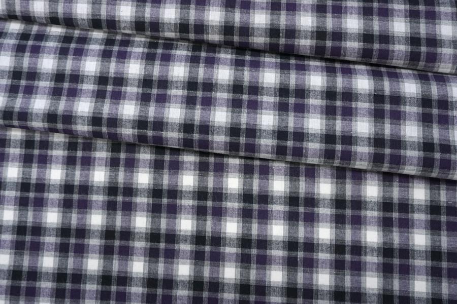 Хлопок рубашечный в клетку PRT-B60 01052008