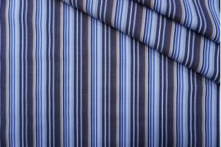 Поплин рубашечный в бело-голубую полоску PRT-F3 22042009