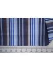 Поплин рубашечный в бело-голубую полоску PRT-G5 22042009