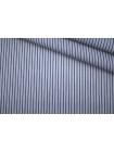 Поплин рубашечный в бело-синюю полоску PRT-G5 22042015