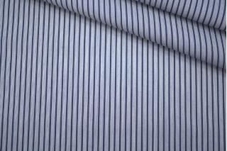 Поплин рубашечный в бело-синюю полоску PRT-F3 22042015