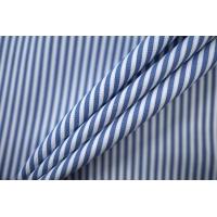 Поплин рубашечный в бело-синюю полоску PRT-F3 22042016